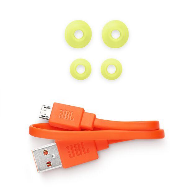 JBL Endurance SPRINT - Yellow - Waterproof Wireless In-Ear Sport Headphones - Detailshot 5