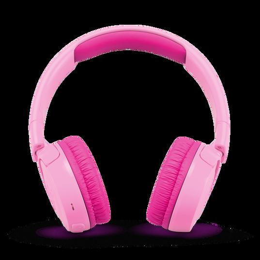 JBL JR300BT - Punky Pink - Kids Wireless on-ear headphones - Front