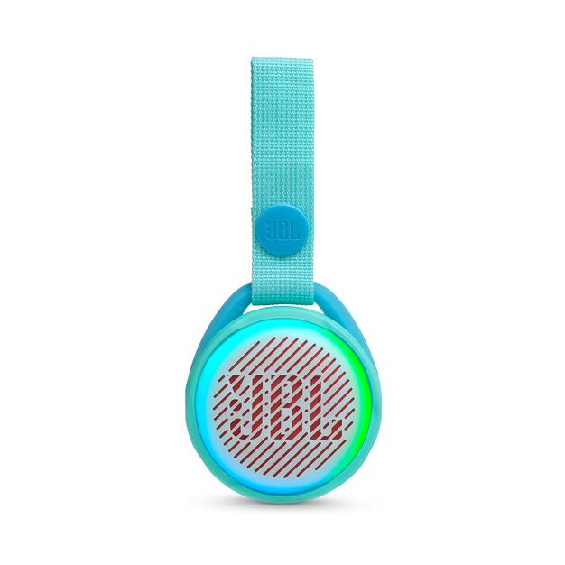 JBL JR POP - Aqua Teal - Portable speaker for kids - Front