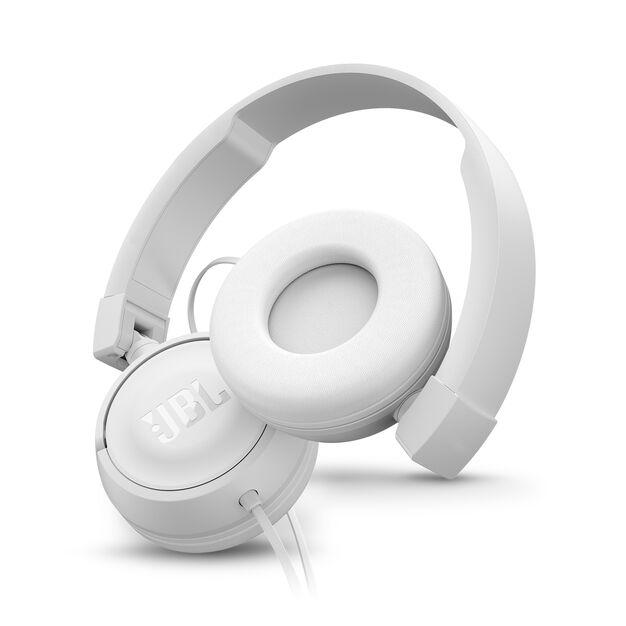 JBL T450 - White - On-ear headphones - Detailshot 1