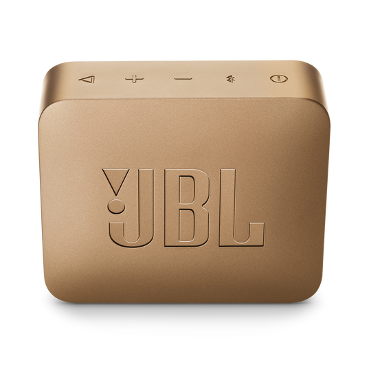 JBL GO 2 - Champagne - Portable Bluetooth speaker - Back