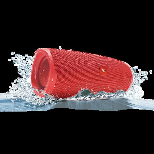 JBL Charge 4 - Red - Portable Bluetooth speaker - Detailshot 5