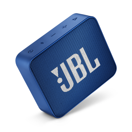 JBL GO 2 - Blue - Portable Bluetooth speaker - Detailshot 1