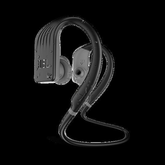 JBL Endurance JUMP - Black - Waterproof Wireless Sport In-Ear Headphones - Hero