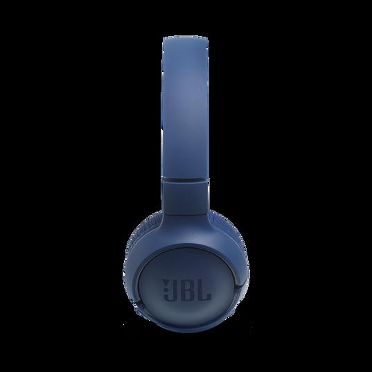 JBL TUNE 500BT - Blue - Wireless on-ear headphones - Left