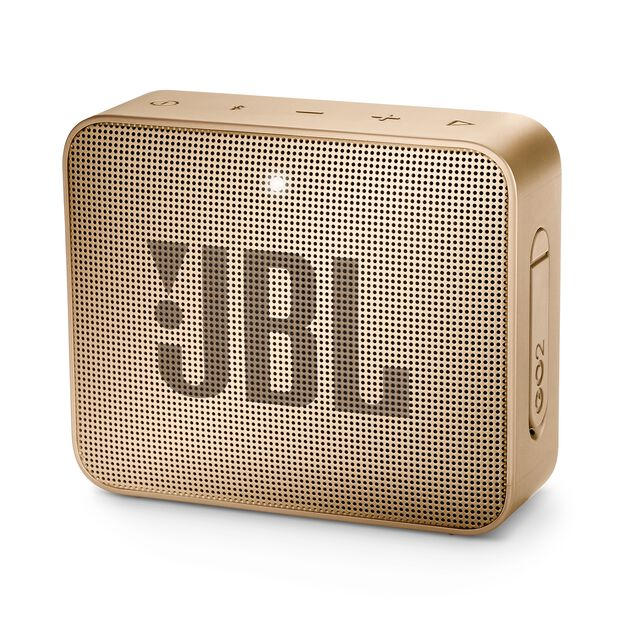 JBL GO 2 - Champagne - Portable Bluetooth speaker - Hero