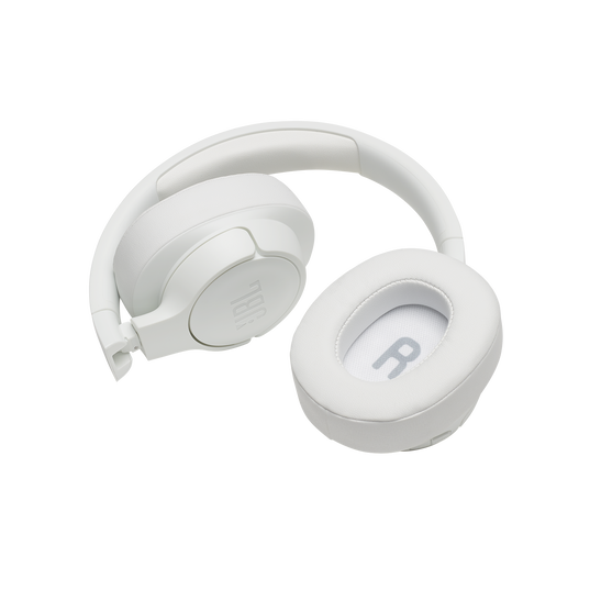 JBL TUNE 700BT - White - Wireless Over-Ear Headphones - Detailshot 2
