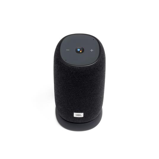 JBL Link Portable - Black - Portable Wi-Fi Speaker - Front