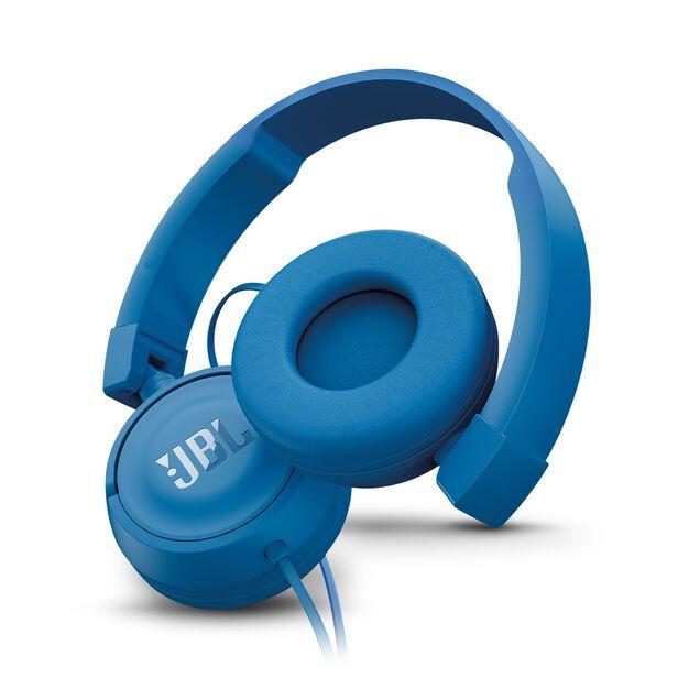 JBL T450 - Blue - On-ear headphones - Detailshot 1