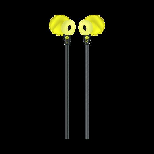 JBL Endurance RUN - Yellow - Sweatproof Wired Sport In-Ear Headphones - Back