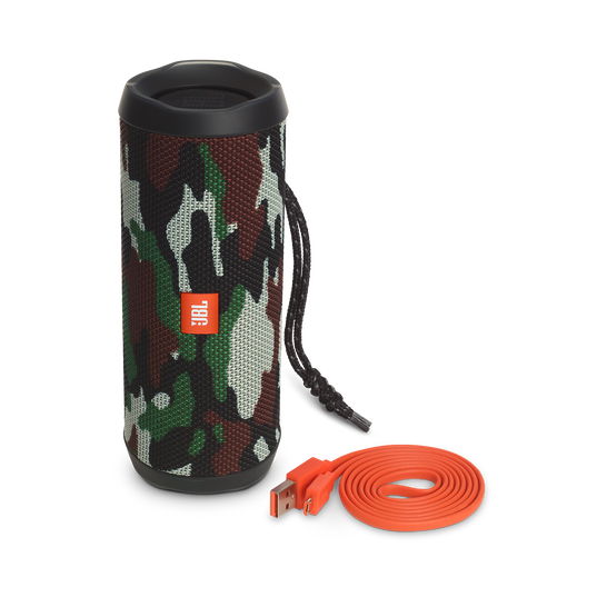JBL Flip 4 Special Edition - Squad - A full-featured waterproof portable Bluetooth speaker with surprisingly powerful sound. - Detailshot 4