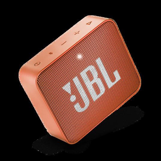 JBL GO 2 - Coral Orange - Portable Bluetooth speaker - Detailshot 1