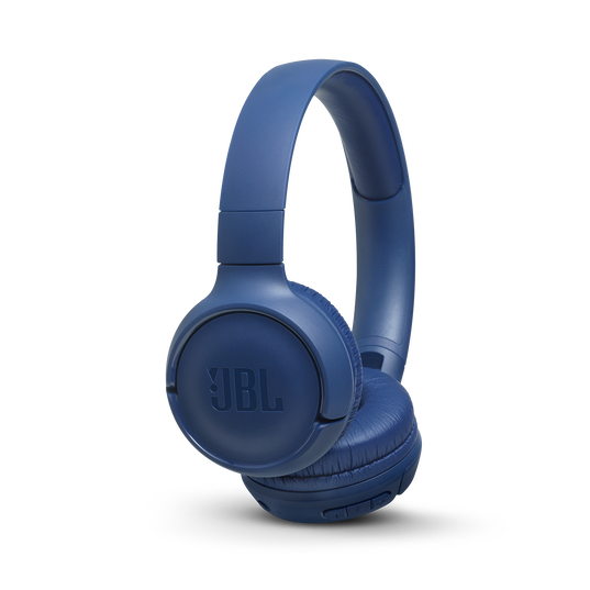 JBL TUNE 500BT - Blue - Wireless on-ear headphones - Hero