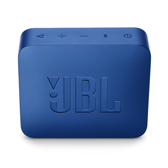 JBL GO 2 - Blue - Portable Bluetooth speaker - Back