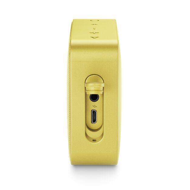 JBL GO 2 - Lemonade Yellow - Portable Bluetooth speaker - Detailshot 4