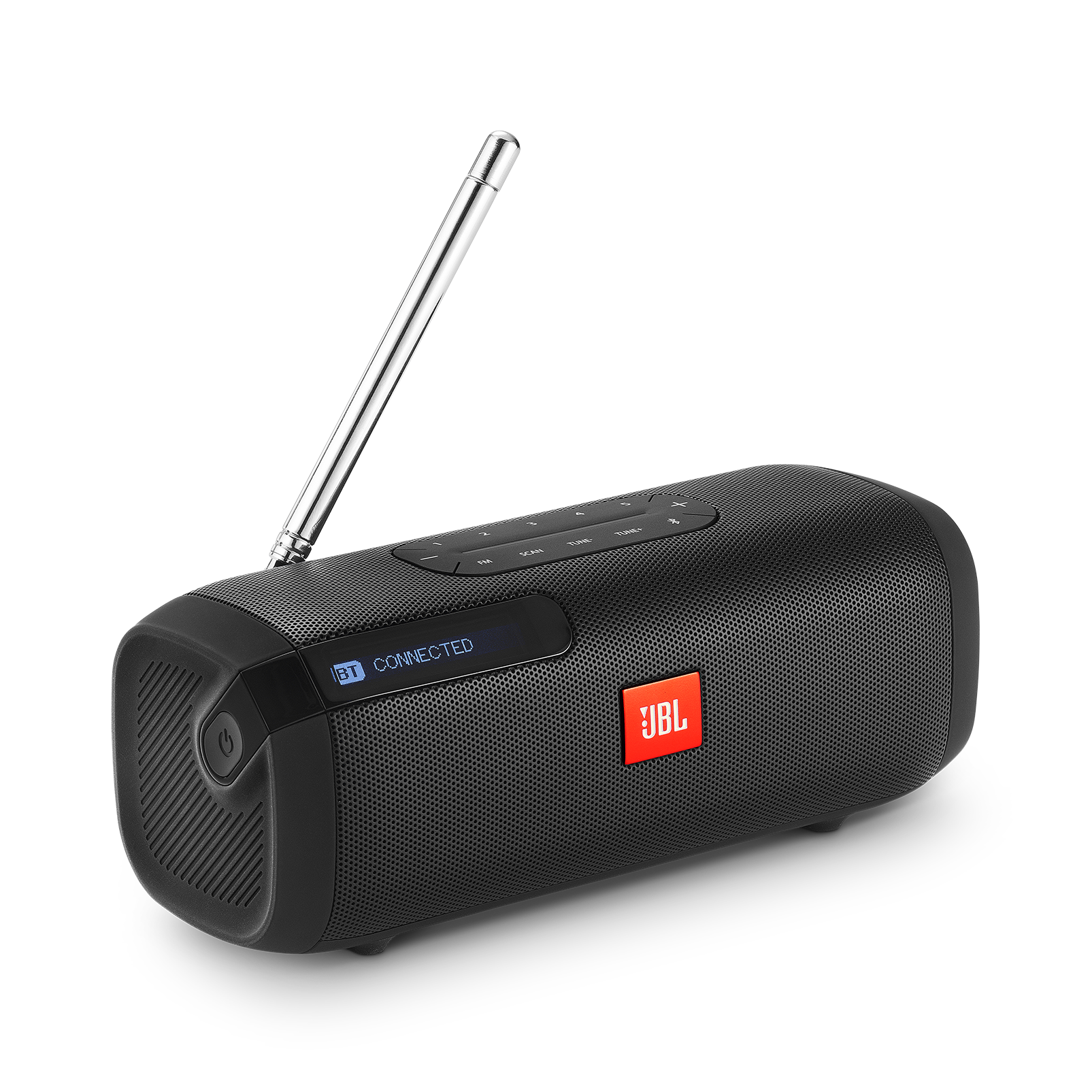 Jbl Tuner Fm Altavoz Bluetooth Portátil Con Radio Fm
