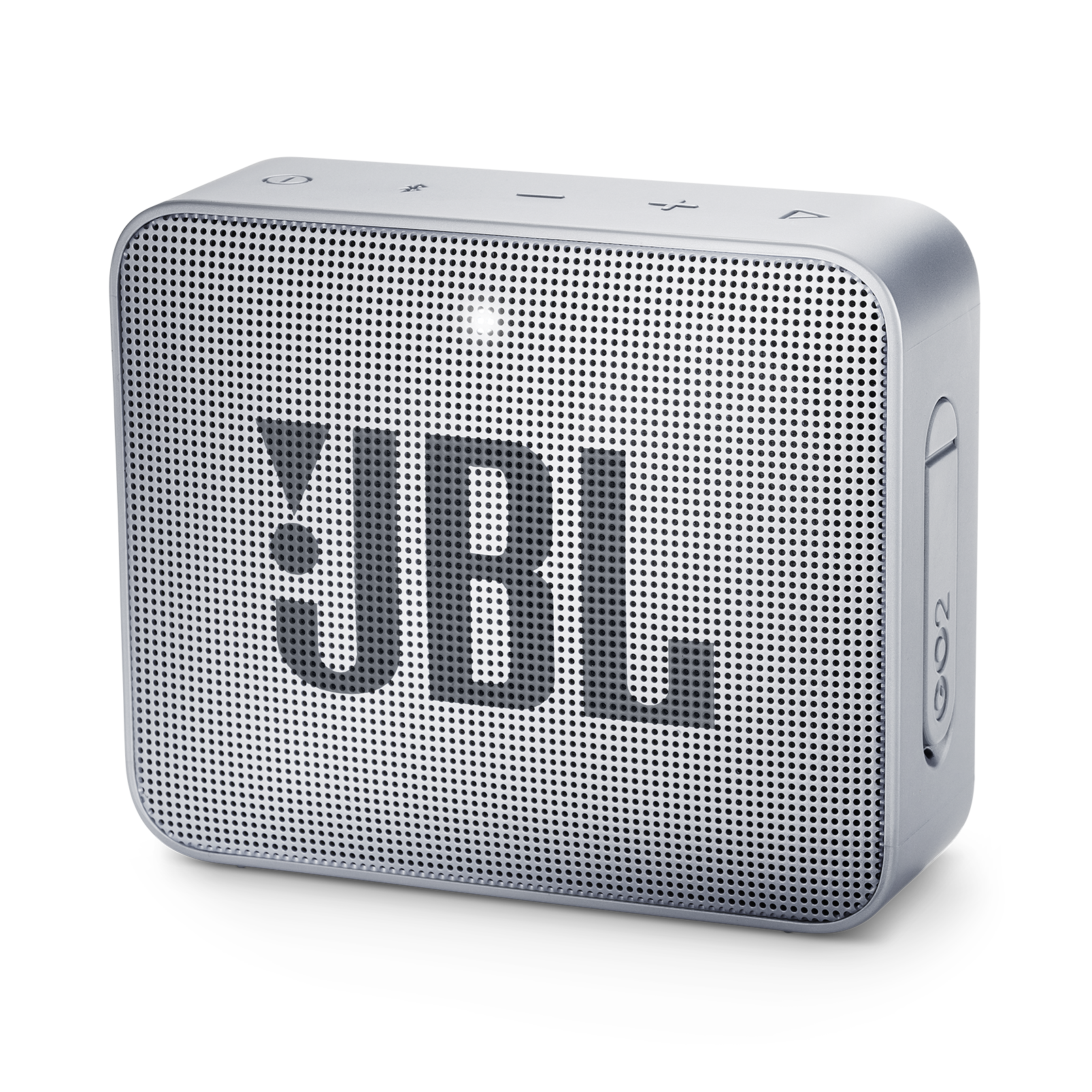 JBL GO 2 - Ash Gray - Portable Bluetooth speaker - Hero